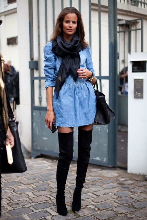 casual-dress-suede-boots