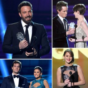 Best & Worst Dressed At Critics Choice Awards! Red CarpetCloseup!