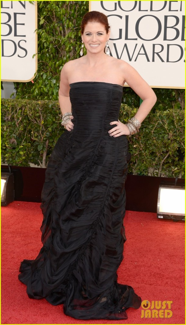 debra-messing-golden-globes-2013-red-carpet-look-dress