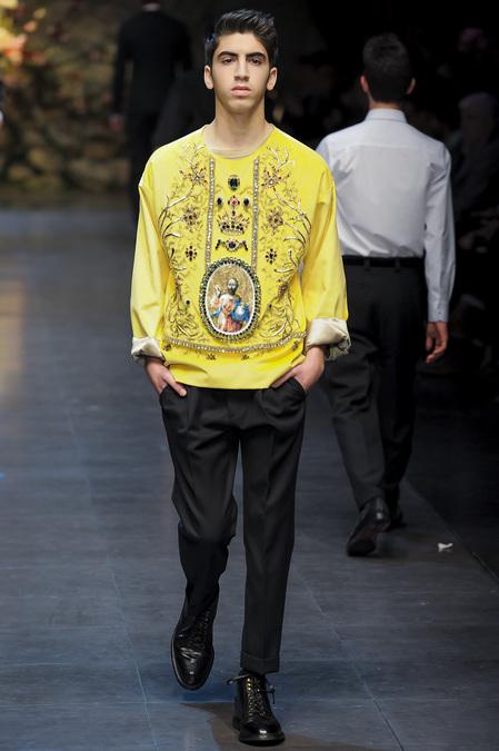 Dolce & Gabbana -  Menswear Fall Winter 2013/2014