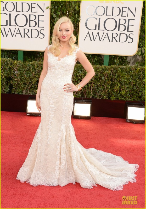 francesca-eastwood-golden-globes-2013-red-carpet-dress
