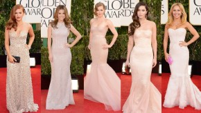 Golden Globes 2013 Red Carpet Dresses & Makeup! Who Was Best & Worst?