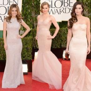 Golden Globes 2013 Red Carpet Dresses & Makeup! Who Was Best &Worst?