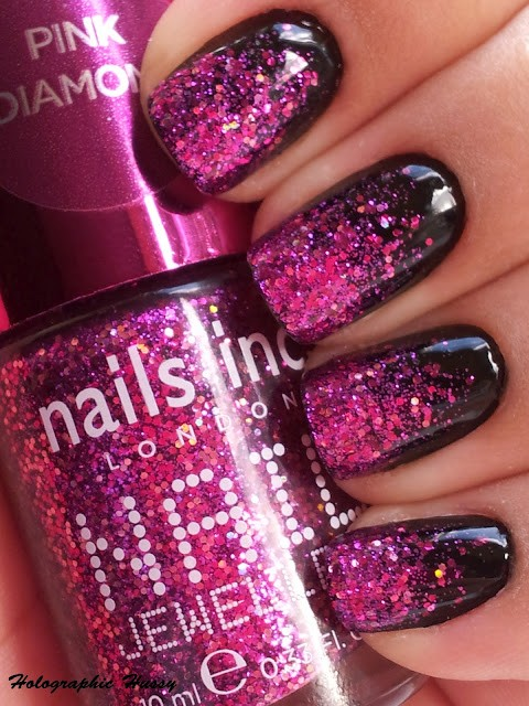 holographic-pink-nails