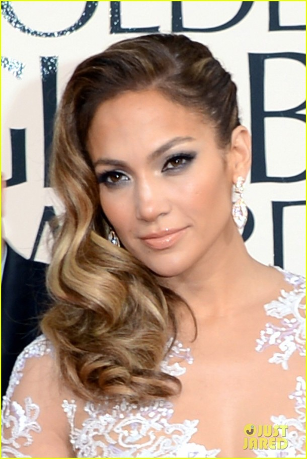 jennifer-lopez-golden-globes-2013-makeup-hair