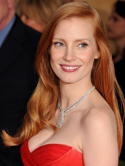 jessica-chastain-sag-2013-makeup