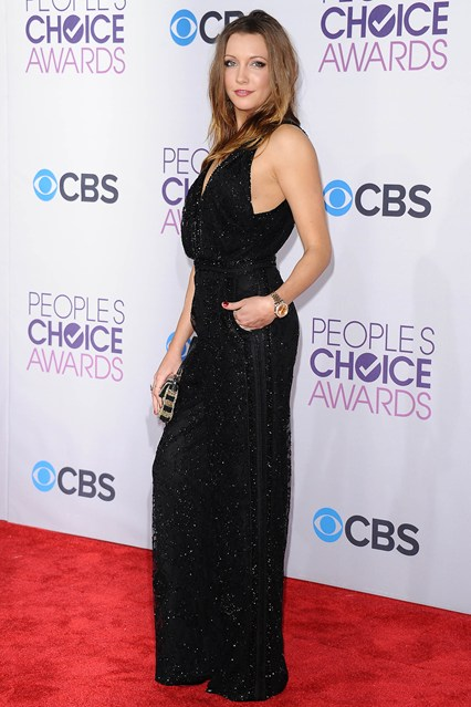 Kate Cassidy at People's Choice Awards 2013, photo via Vogue