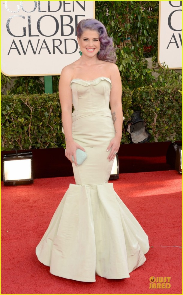 kelly-osbourne-golden-globes-2013-red-carpet-dress