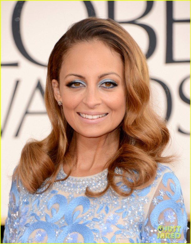 nicole-richie-golden-globes-2013-makeup-hair