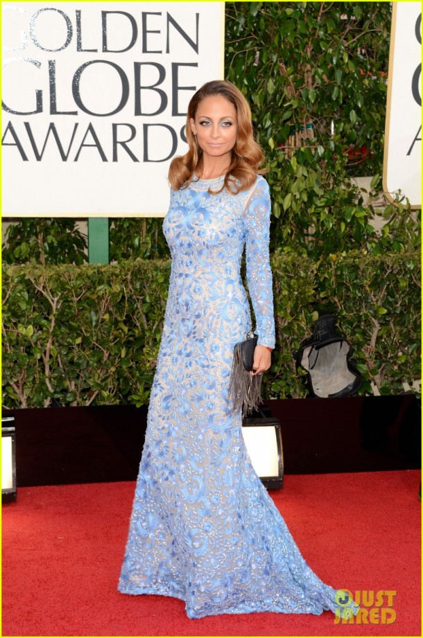 nicole-richie-golden-globes-2013-red-carpet-dress