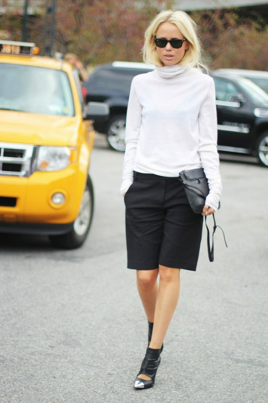 office-look-shorts