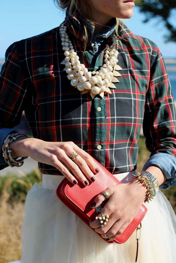 plaid-and-tulle