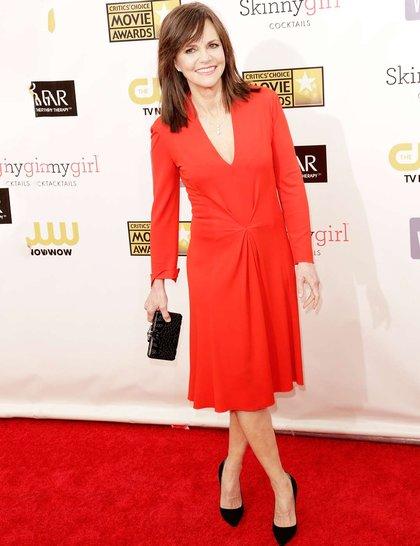 Sally Field at Red Carpet Critics Choice Awards 2013
