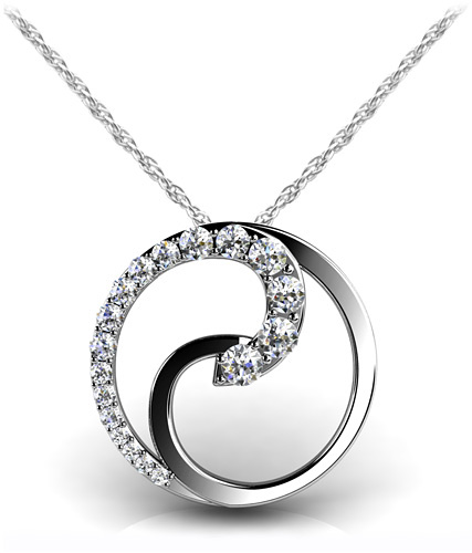 anjolee Diamond Journey Pendant