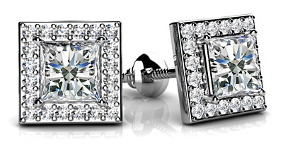 anjolee- Diamond Stud Earrings