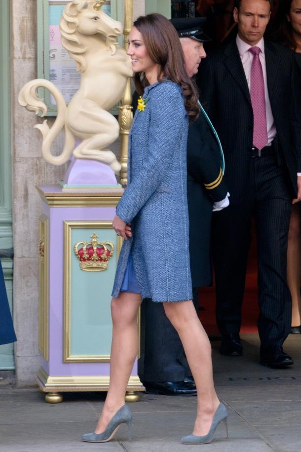 Queen Elizabeth II, Camilla, Duchess Of Cornwall And Catherine, Duchess Of Cambridge Visit Fortnum & Mason Store