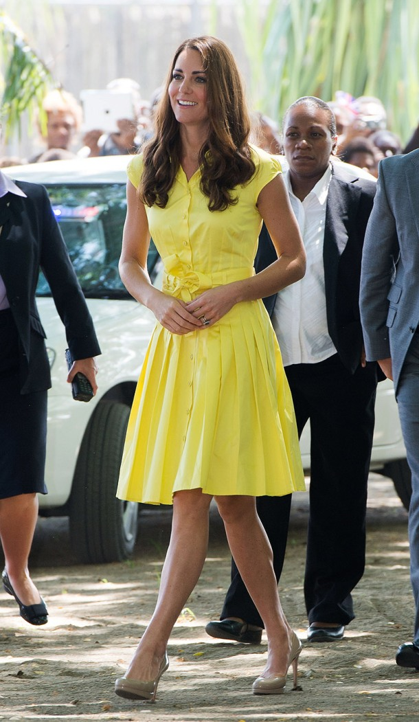 The Duke And Duchess Of Cambridge Diamond Jubilee Tour - Day 7