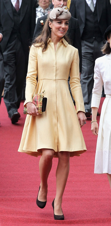 kate-middleton-yellow-dress (2)