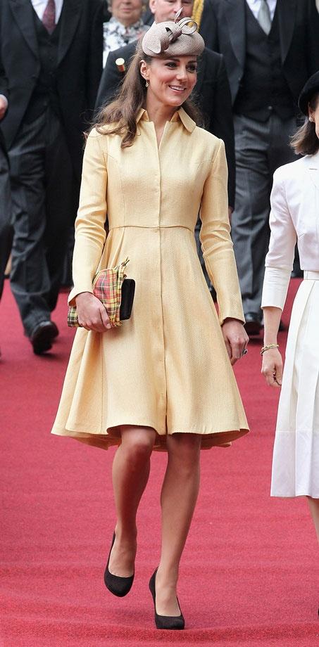 kate-middleton-yellow-dress (2)