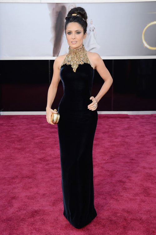 salma-hayek-oscars-2013-red-carpet