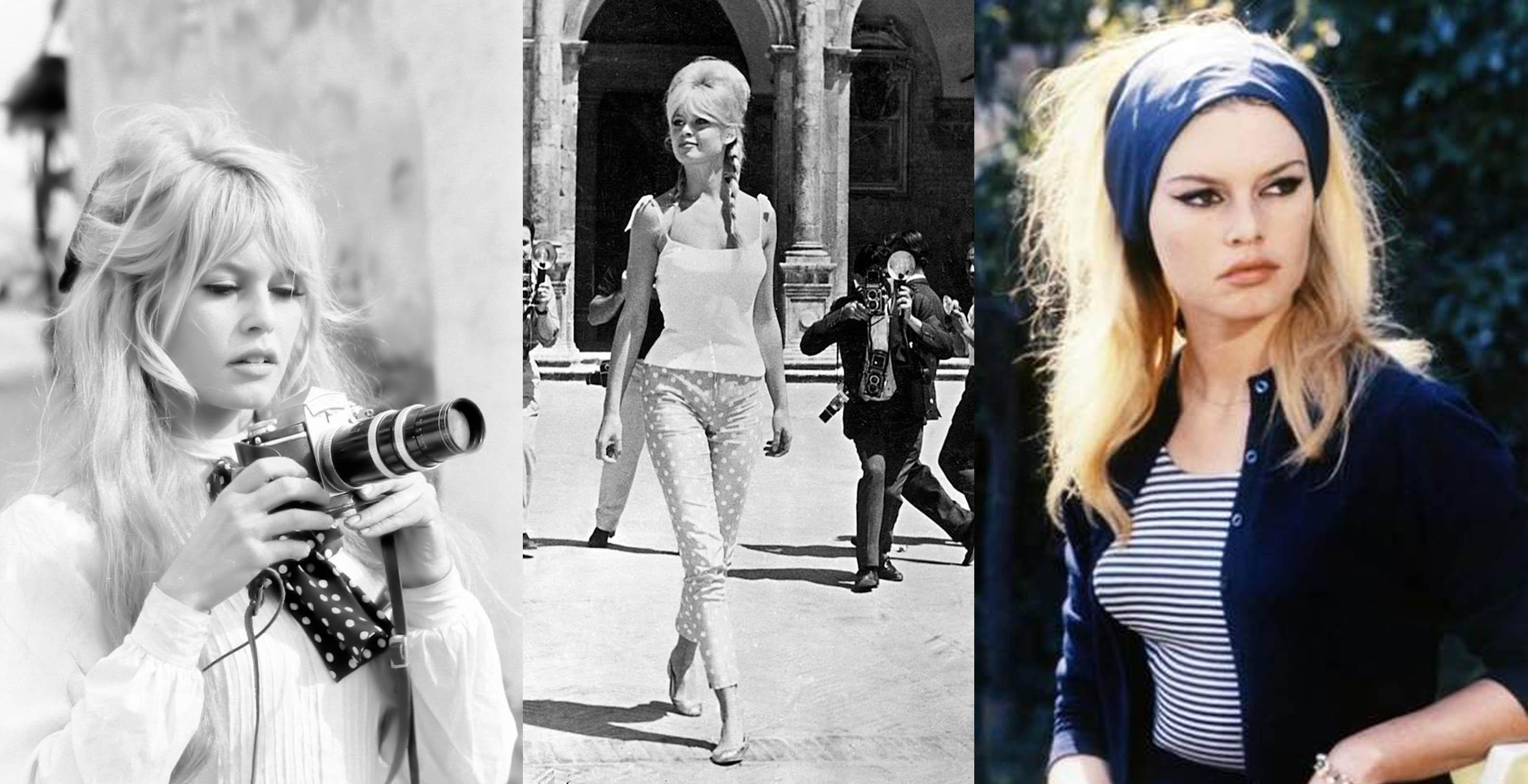 Brigitte Bardot 60s Fashion