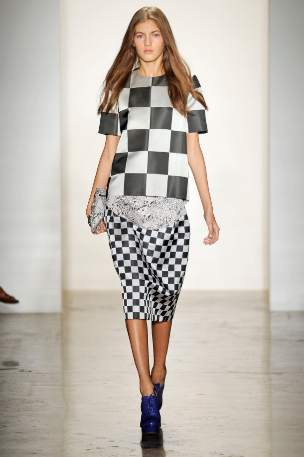 checkerboard-look