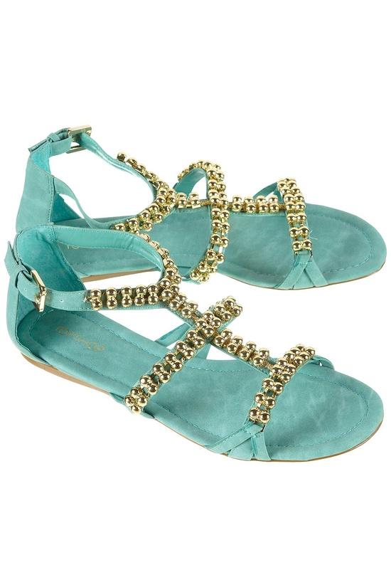 gladiator-embelished-sandals