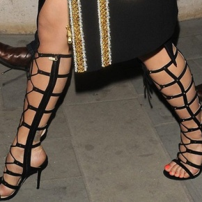 High Gladiator Sandals – Trend Alert For Spring! Do You Love The Strappy ShoeStyle?