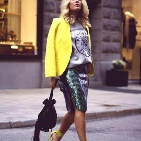 Sweatshirts For Spring 2013! How To Style The Luxe SweatshirtLook?