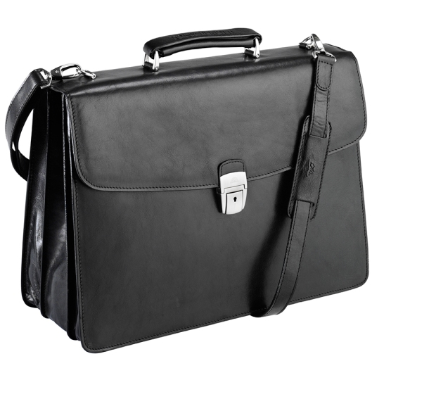 Bag Direct - black classic briefcase