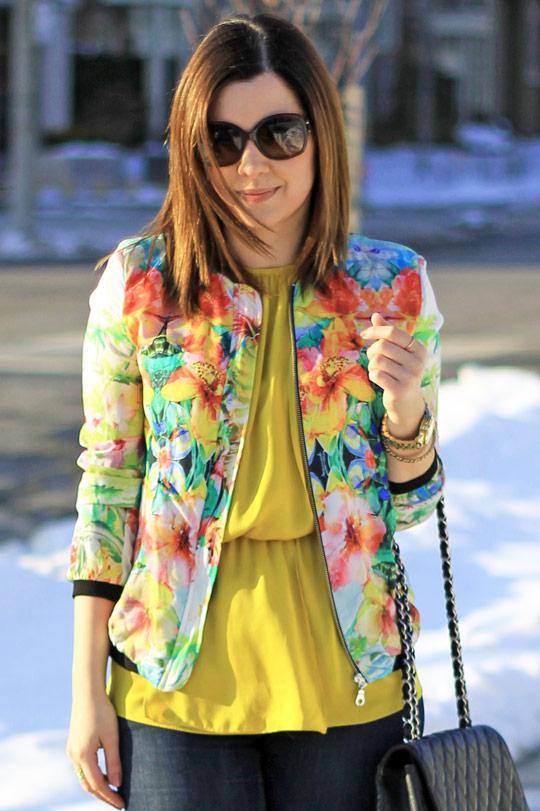 jacket-floral-print