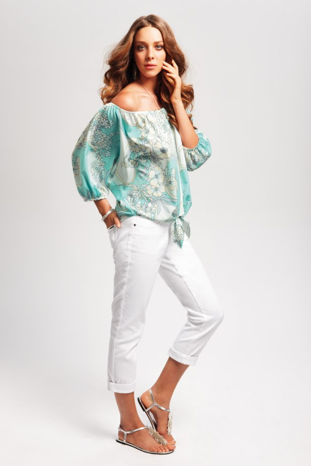 Kohls_Jennifer Lopez-flower-print-blouse