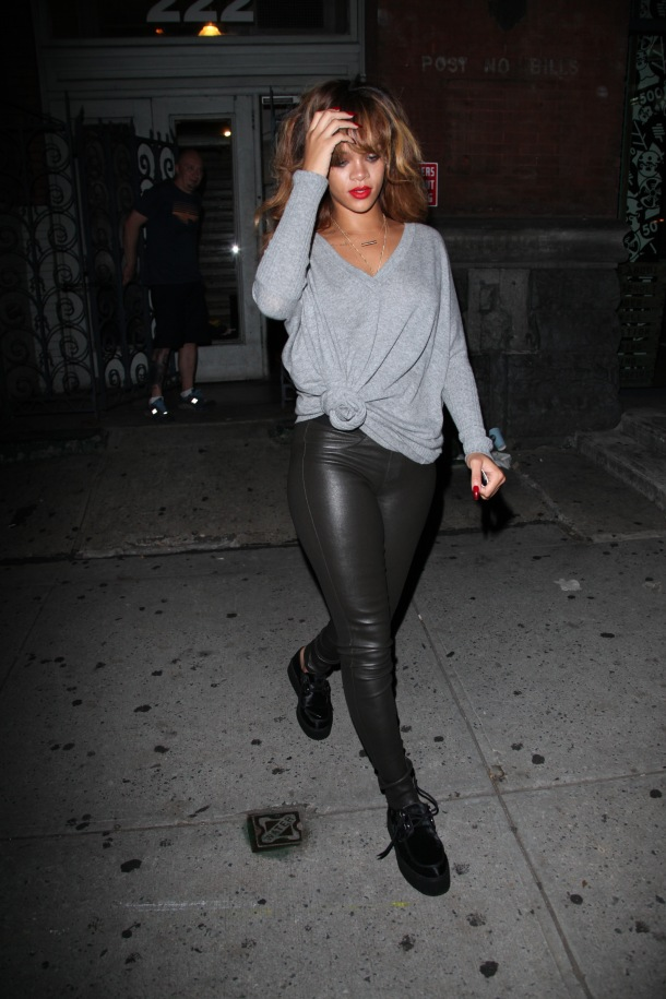 Rihanna In New York