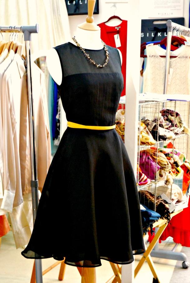 black-dress-london-fashion-fair