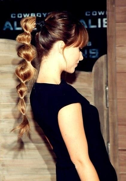 bubbly-ponytail