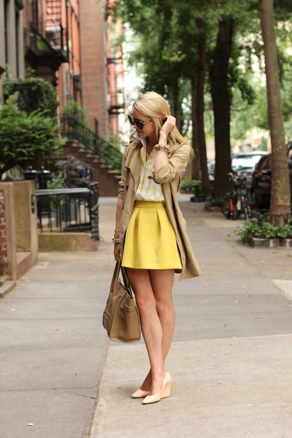 colored-skater-skirt-streetstyle