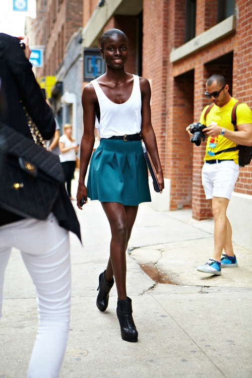 how-to-wear-skater-skirts