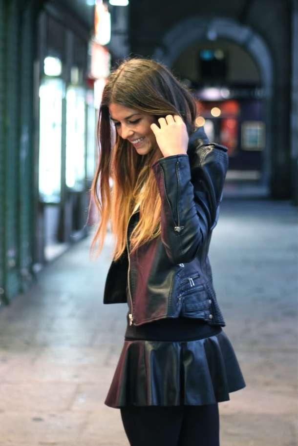leather-skater-skairt-chic-look