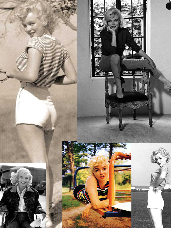 marilyn monroe casual looks Why Are We Still In Love With Marilyn Monroe?
