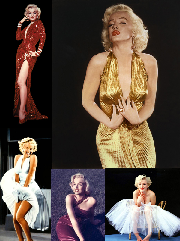 marilyn monroe dresses Why Are We Still In Love With Marilyn Monroe?