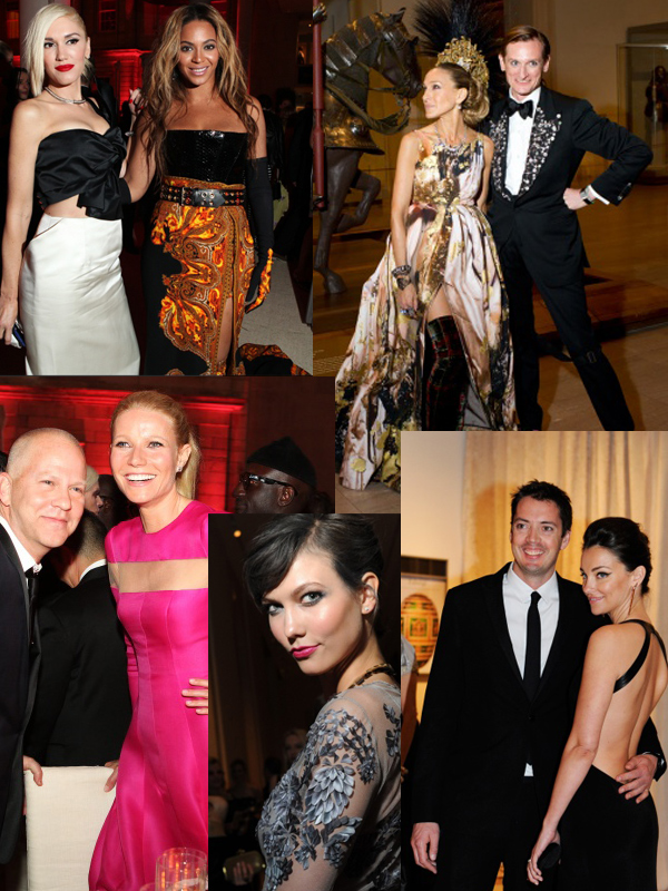 met gala dinner party 2013 Punk Party At The Met Gala!