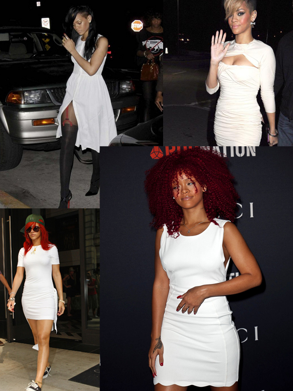 rihanna-white-dresses-style