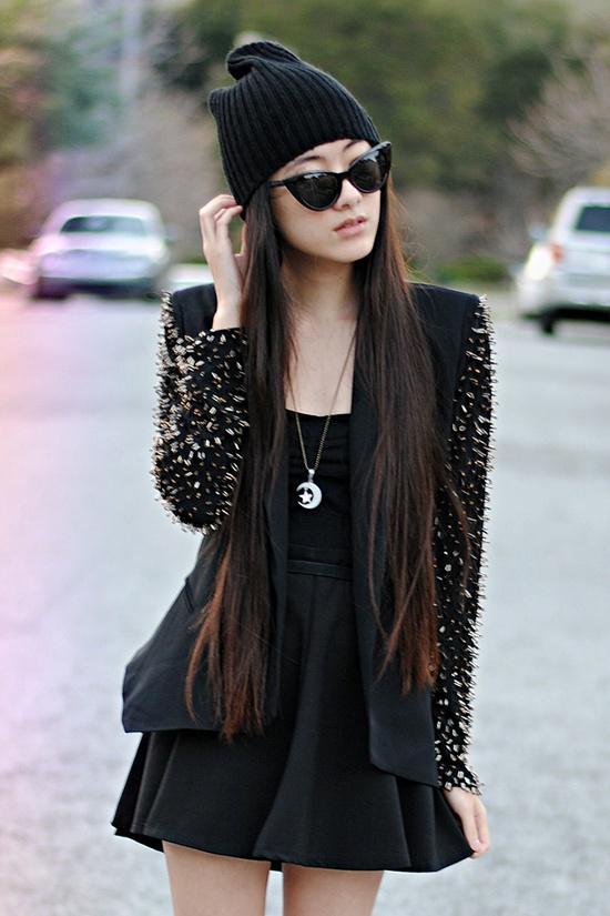 skater-skirt-all-black