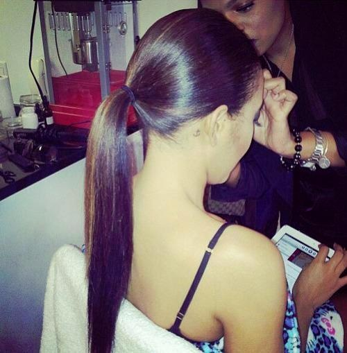sleek-ponytail