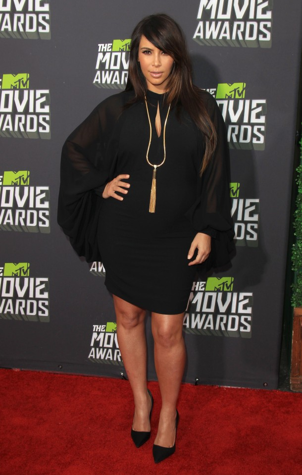 Arrivals at the 2013 MTV Movie Awards in LA