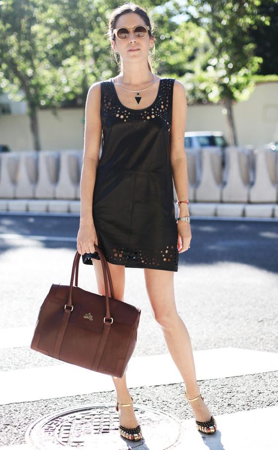 streetstyle-şık-siyah-elbise