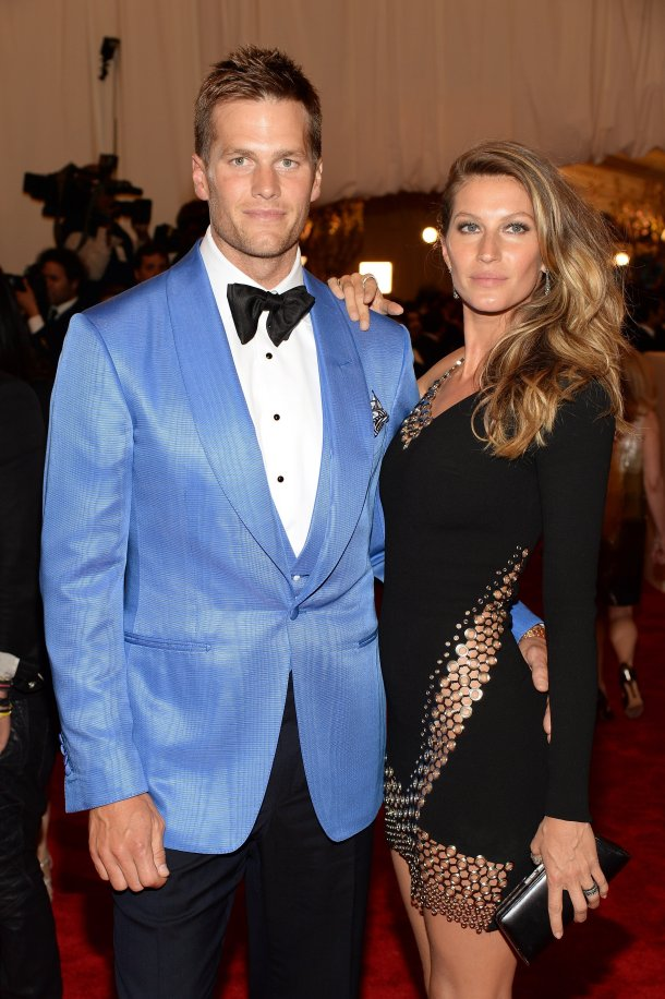 tom brady and gisele-red-carpet-met-gala-2013