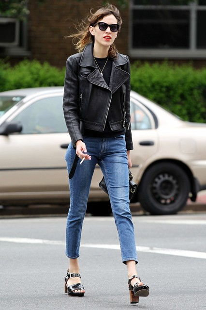 alexa chung chunky heels Ugly Shoes That Look Great!