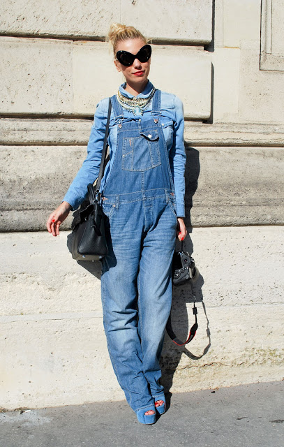 how to wear overall dress