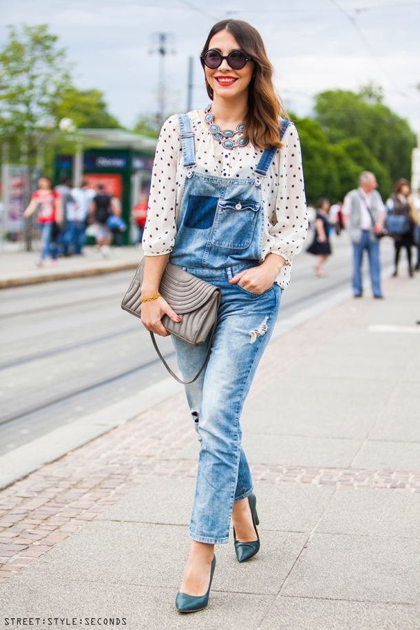 long-denim-overall-street-style